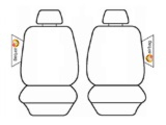 Custom Seat Covers Mazda BT-50 Dual Cab XT XTR GT 11/2011-9/2015 BT50 Deploy Safe