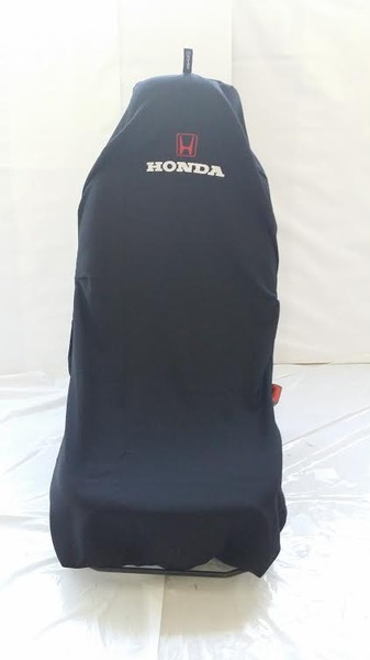 AXS Car Seat Cover Honda Slip On Throw Over Single Black