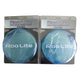Roo Lite180XP 4WD Long Range Driving Combo Fog Light Blue Protector Lens Covers One Pair