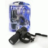 9 Led Torch With Bracket Black