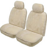 Rivergum 20mm Sheepskin Seat Covers 4 Years Warranty Deploy Safe Pair