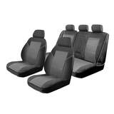 Esteem Velour Seat Covers Set Suits Mercedes C200 C220 C series Sedan 2008-On 2 Rows