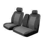 Custom Made Esteem Velour Seat Covers Mitsubishi Canter 3.5T Truck 2005-On 1 Row