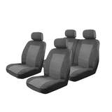Esteem Velour Seat Covers Set Suits Mitsubishi Colt XLS Hatch 2004-On 2 Rows