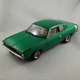 1:18 1972 Charger E38 Custom Green Metallic Opal Classic Carlectables 18544