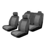 Esteem Velour Seat Covers Set Suits Toyota Avalon Conquest / Sorrento Sedan 2000-On 2 Rows