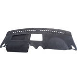 Dashmat VW Caddy 1.6/1.9/Life 2/05-On All Models - Integrated Air Bag Flap W1901 Black