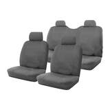 Custom Made Outback Canvas Seat Covers Holden Colorado RC LX / LTR Crew Cab 07/2008-05/2012 2 Rows