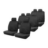 Neoprene Seat Covers Set Suits Isuzu MU-X UC LS-M / LS-U / LS-T Wagon 11/2013-On Wetsuit 3 Rows