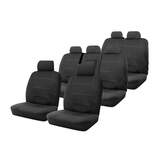 Neoprene Seat Covers Set Suits Ford Territory SZ 7 Seater TS / Titanium 5/2011-On Wetsuit 3 Rows