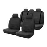 Neoprene Seat Covers Set Suits Toyota Corolla ZRE172R Ascent SX / ZR Sedan 2/2014-On Wetsuit 2 Rows