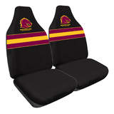 NRL Seat Covers Brisbane Broncos One Pair MHNRLBRO60