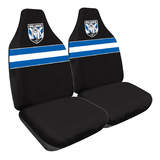 NRL Seat Covers Canterbury Bulldogs One Pair MHNRLBUL60