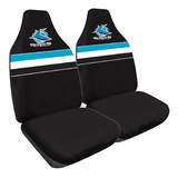 NRL Seat Covers Cronulla Sharks One Pair MHNRLSHA60