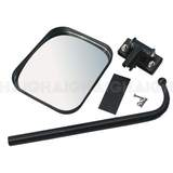 Rear Mounted Convex Mirror For Hatch, Van, 4WD 140mm x 170mm MH3130