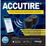 Accutire Tyre Pressure and Temperature Bluetooth Monitoring System Pack of 2 MS-4388GB2