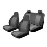 Custom Seat Covers Toyota Hiace LWB Crew Van 2016-On 2 Rows