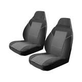 Custom Made Esteem Velour Seat Covers Toyota Hiace Commuter Bus 2006-On 1 Row