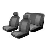 Custom Made Esteem Velour Seat Covers Mazda BT-50 Freestyle XT XTR Ute 11/2011-On 2 Rows