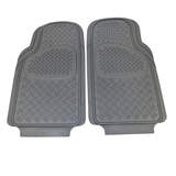 Sentry Rubber Floor Mats Front - Grey Pair