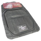 RM Williams Heavy Duty Rubber Floor Mats Front Pair Black