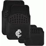 AFL Floormats Carlton Blues Set Of 4