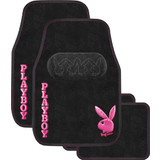 Playboy Car Floor Mats Set of 4 Pink