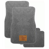 RM Williams Rmw Carpet Floor Mats Front + Rear Set of 4 Grey