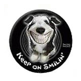 4WD Spare Wheel Cover Twisted Whiskers Dog Smilin' 29 Inch SWC2960