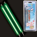 "Neonz Dual 6"" 15cm Green Neon Stick Beats To Music 12V NE76DG"