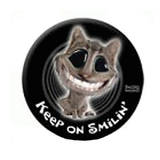 4WD Spare Wheel Cover Twisted Whiskers Cat Smilin' 31 Inch SWC170