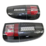 Altezza Tail BA Ute Black Pair LED Brake Lights