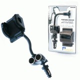 Phone Holder 2 12V Socket