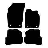 Tailor Made Floor Mats Audi A1 2010-Current Front & Rear