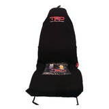 Car Seat Covers Trd Toyota Racing Slip On Throw Over Embroidered One Pair Axs Seatcovers