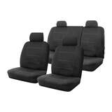 Wetsuit Seat Covers Nissan Navara ST Dual Cab 2/2012 - 5/2015 Custom Made Neoprene 2 Rows