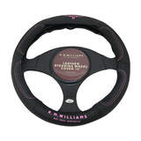 RM Williams Steering Wheel Cover 15 Inch Leather Jillaroo Pink Logo