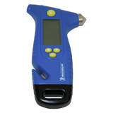 Michelin Programmable Digital Tyre Pressure Gauge With Emergency Hammer MN4205B