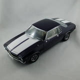 1:18 Classic Carlectables Holden HQ GTS Monaro Amethyst Metallic 18528