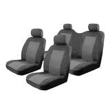 Esteem Velour Seat Covers Set Suits Great Wall V240 K2 Double Cab 07/2009-On 2 Rows