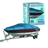 Canvas Waterproof Boat Cover 4.3M-4.8M 14Ft To 16Ft 600 Denier BCC16