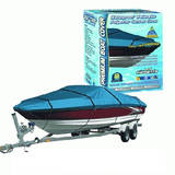 Canvas Waterproof Boat Cover 5.2M To 5.8M Or 17' To 19Ft 600 Denier BCC19
