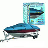 Canvas Waterproof Boat Cover 6.0M To 6.7M Or 20Ft To 22Ft 600 Denier BCC22