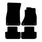 Tailor Made Floor Mats Audi A4 B8 2008-Current Custom Front & Rear