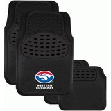 AFL Floormats Western Bulldogs Set Of 4