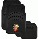 AFL Floormats Brisbane Lions Set Of 4