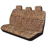Wild Leopard Animal Print Seat Covers 06 Rear