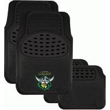 NRL Canberra Raiders Floor Mats Set Of 4