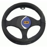 Leather Grip Steering Wheel Cover