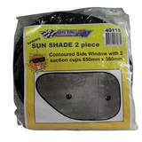Interior Sun Shade-Spring Loaded Contour Side Shades 40115